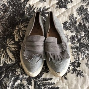 ANTHROPOLOGIE KMB Grey Loafers